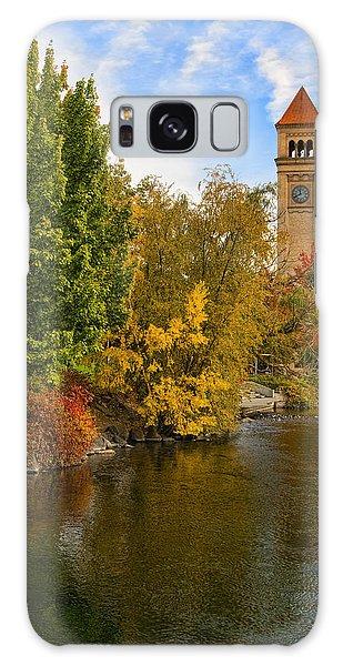 Clocktower In Fall Galaxy Case