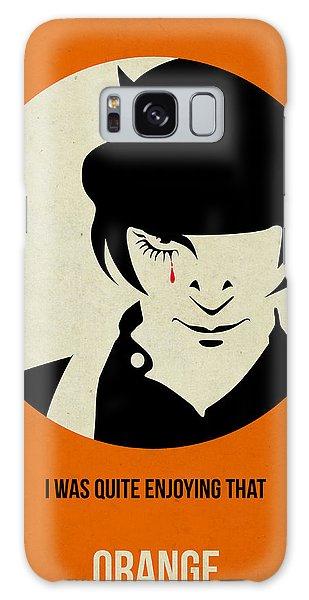 Movie Poster Galaxy Case - Clockwork Orange Poster by Naxart Studio
