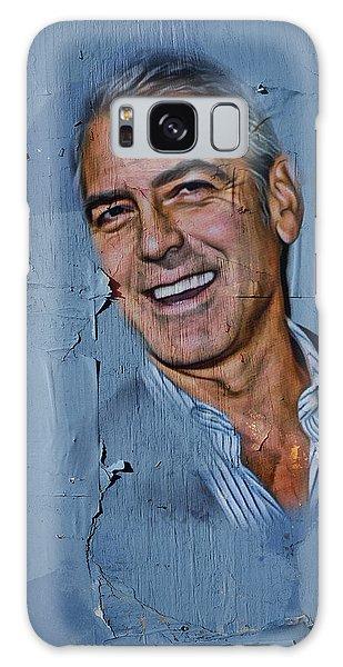 Clooney On Board Galaxy Case