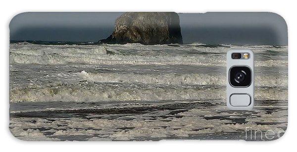 Close Haystack Rock Galaxy Case by Susan Garren