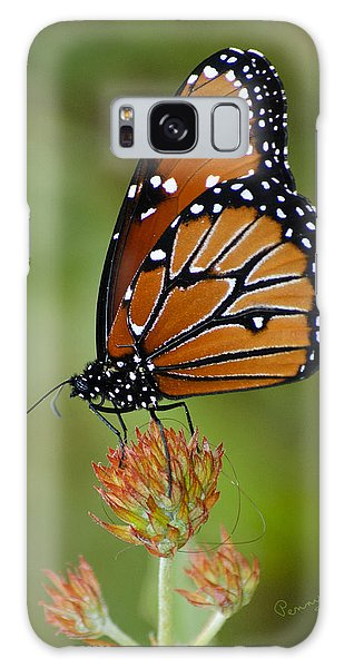 Close-up Pose Galaxy Case by Penny Lisowski