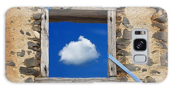 Stone Wall Galaxy Case - Cloud by Bernard Jaubert