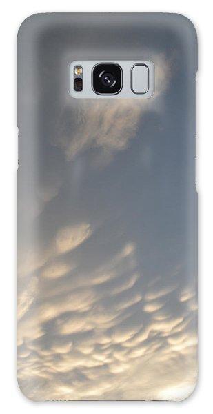 Cloud Bottoms  Galaxy Case by Lyle Crump