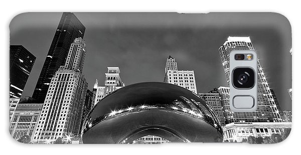 Chicago Art Galaxy Case - Cloud Gate And Skyline by Adam Romanowicz