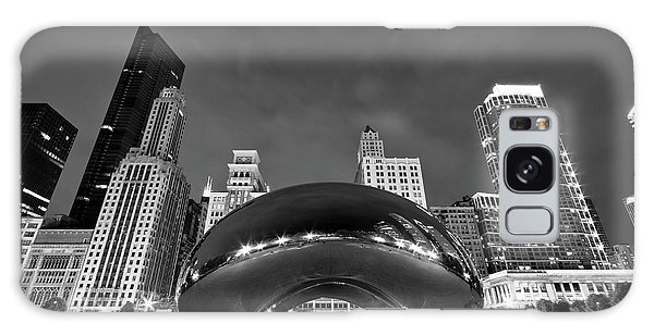Cloud Gate And Skyline Galaxy Case