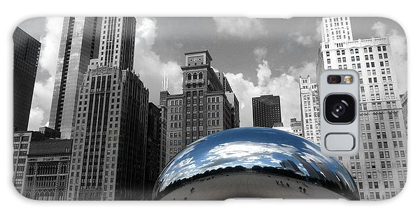 Cloud Gate B-w Chicago Galaxy Case