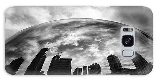 Skylines Galaxy Case - Cloud Gate Chicago Bean by Paul Velgos