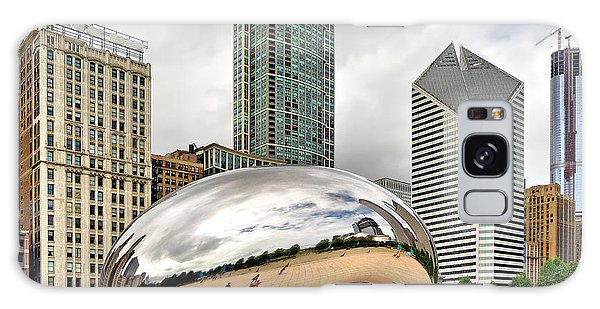 Cloud Gate In Chicago Galaxy Case