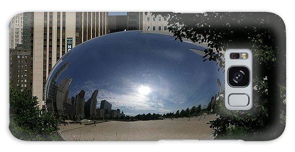 Cloud Gate Galaxy Case by Tannis  Baldwin