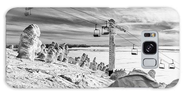 Cloud Lift Galaxy Case by Aaron Aldrich