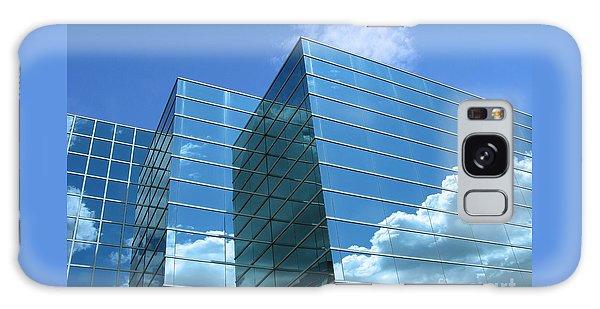 Cloud Mirror Galaxy Case by Ann Horn