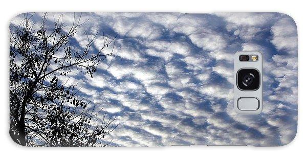 Cloud Of Cotton Balls Galaxy Case