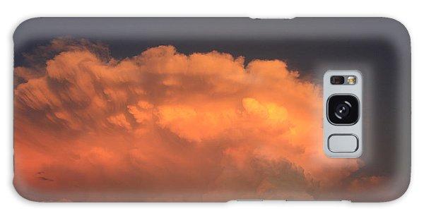 Cloud On Fire Galaxy Case