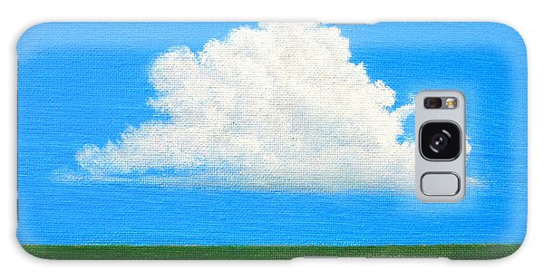 Cloud Over Wetlands Galaxy Case