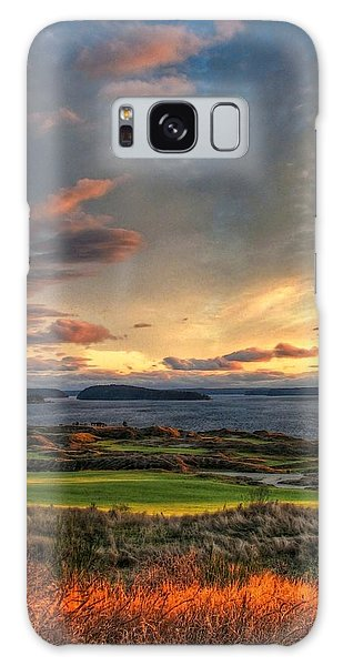 Cloud Serenity - Chambers Bay Golf Course Galaxy Case