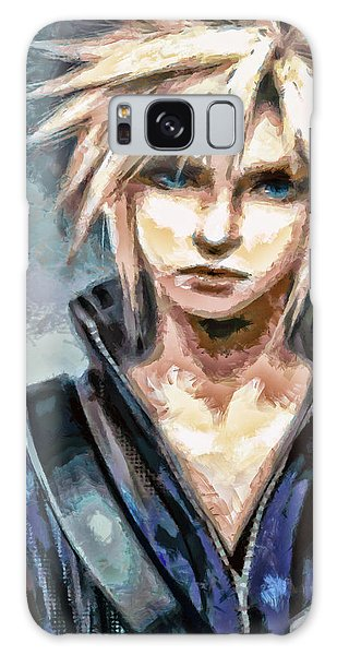 Cloud Strife Galaxy Case by Joe Misrasi