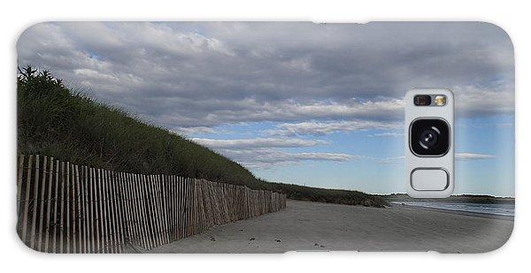 Clouded Beach Galaxy Case