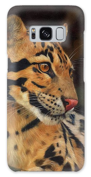 Clouded Leopard Galaxy Case