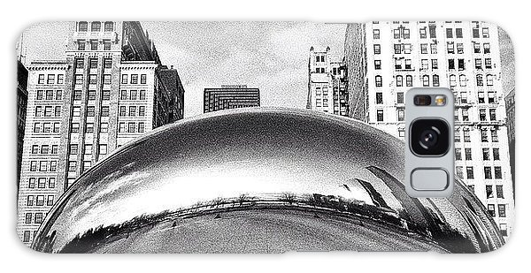Chicago Bean Cloud Gate Photo Galaxy Case