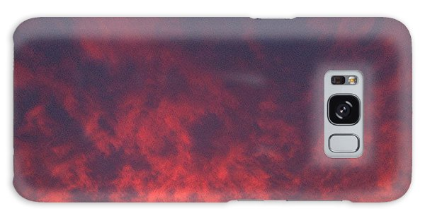 Clouds Ablaze Galaxy Case