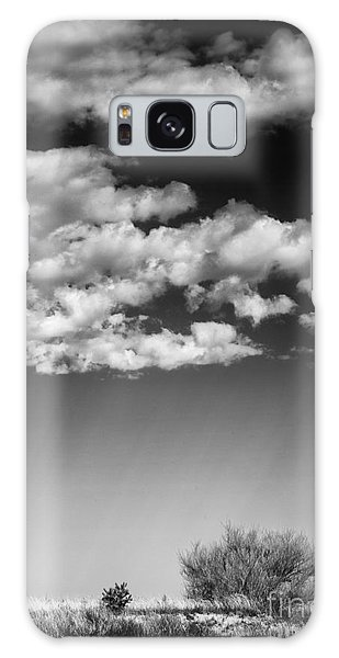 Clouds And Brush Galaxy Case