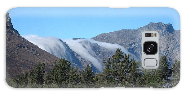 Clouds Flowing Over The Mountains Galaxy Case
