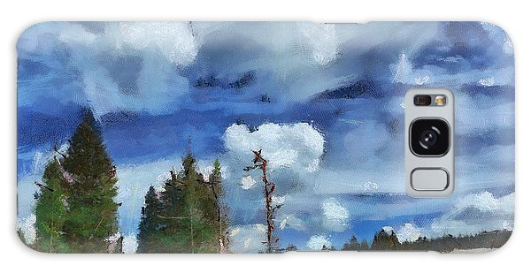 Clouds Of Joy Galaxy Case by Carrie OBrien Sibley