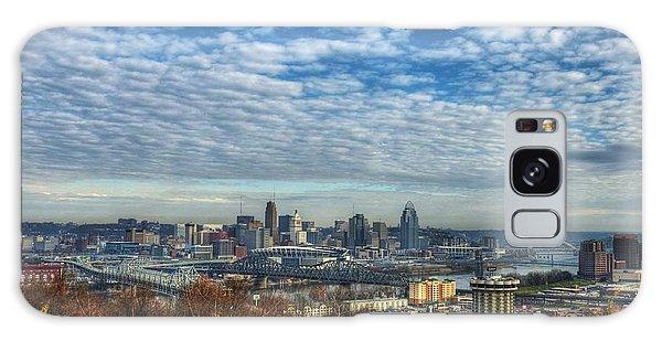 Clouds Over Cincinnati Galaxy Case