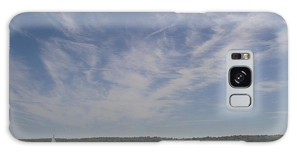 Clouds Over Long Island Sound Galaxy Case by John Telfer
