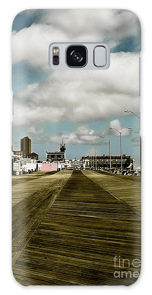 Clouds Over The Boardwalk Galaxy Case