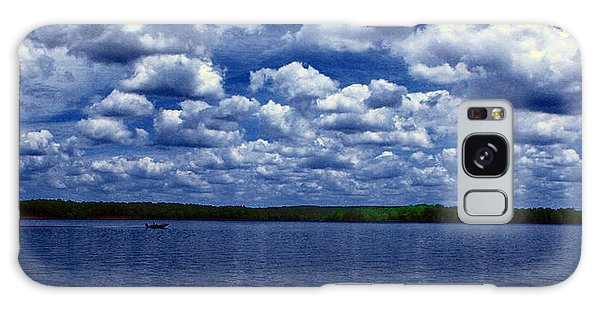 Clouds Over The Catawba River Galaxy Case