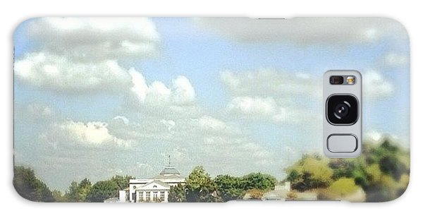 Sports Galaxy Case - Clouds Over The Club House #iphone5 by Scott Pellegrin