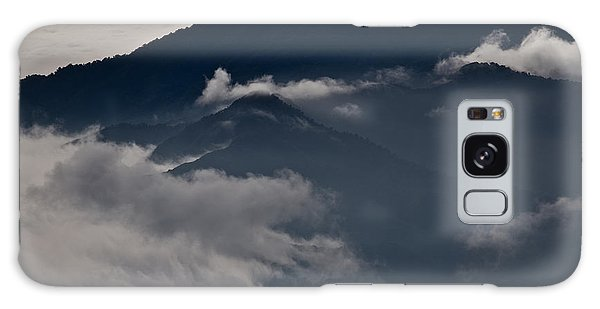 Clouds Over The Mounatins Galaxy Case