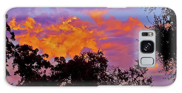 Clouds Galaxy Case by Pamela Cooper