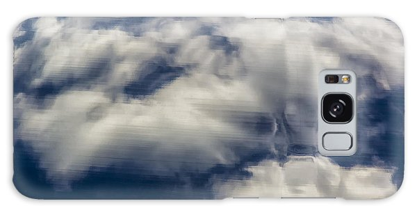 Clouds Reflections On Metallic Surface Galaxy Case