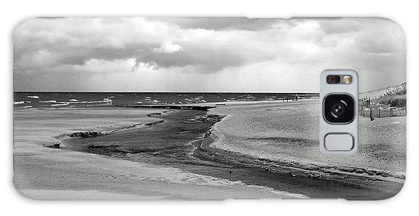 Cloudy Beach Galaxy Case