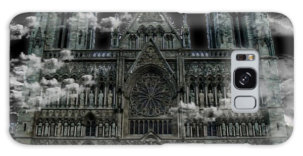 Cloudy Cathedral Galaxy Case