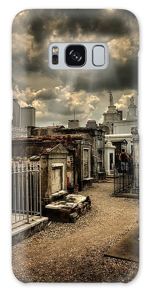 Cloudy Day At St. Louis Cemetery Galaxy Case