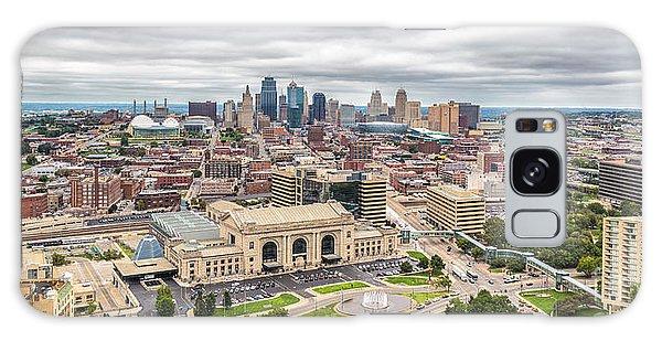 Cloudy Sky Over Kansas City Galaxy Case