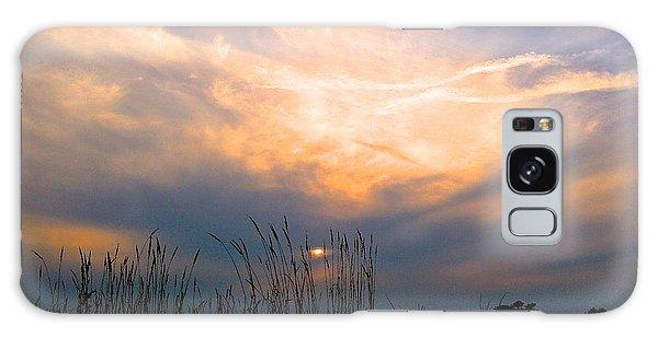 Cloudy Sunrise Galaxy Case