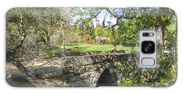 Clover Valley Park Bridge Galaxy Case