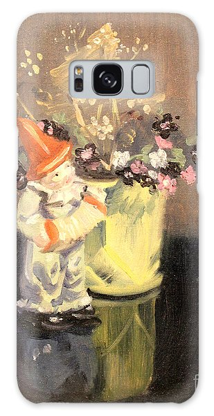 Clown And Flowers 1939 Galaxy Case