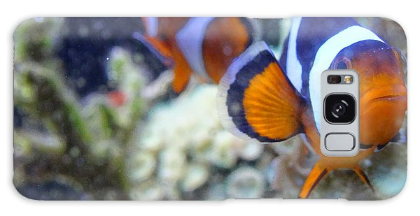 Clown Fish Couple Galaxy Case
