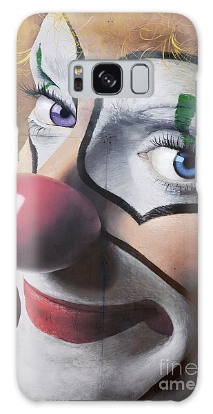 Clown Mural Galaxy Case by Bob Christopher