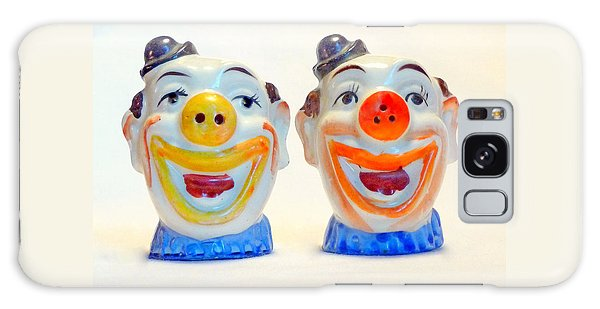 Vintage Clown Salt And Pepper Shakers Galaxy Case
