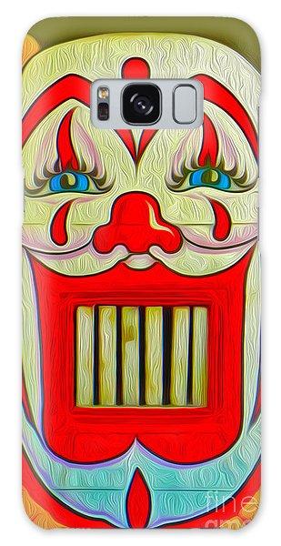 Clown Teeth Galaxy Case by Gregory Dyer