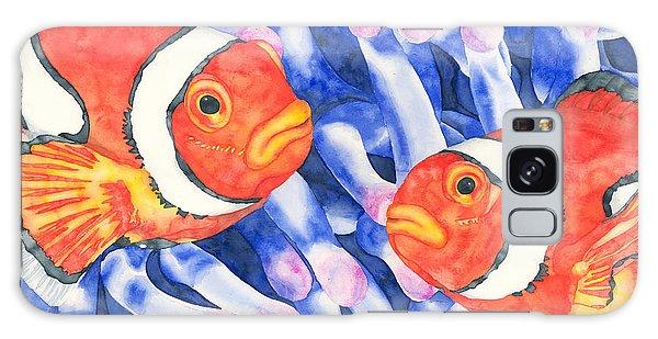 Clownfish Couple Galaxy Case