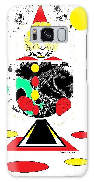 Clowning  Around 2 Galaxy Case by Ann Calvo