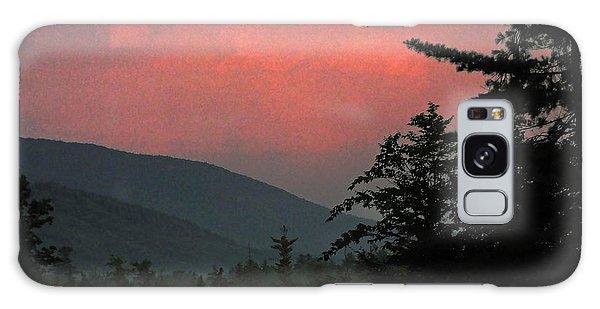 Clucks West Ossipee Mountain Sundown Galaxy Case