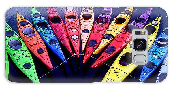 Clustered Kayaks Galaxy Case